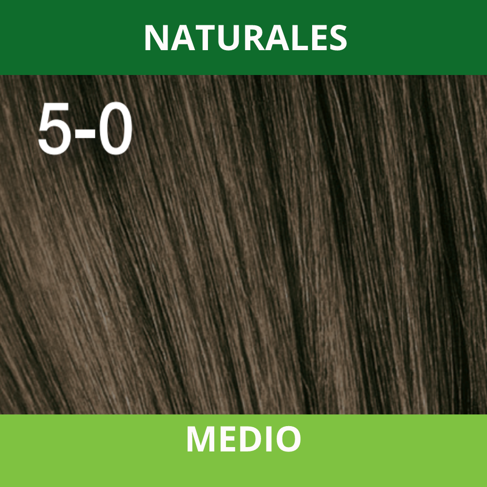 SCHWARZKOPF TINTURA ESSENSITY 5-0 Castaño Claro/Castanho Claro (Natural) 60 ML