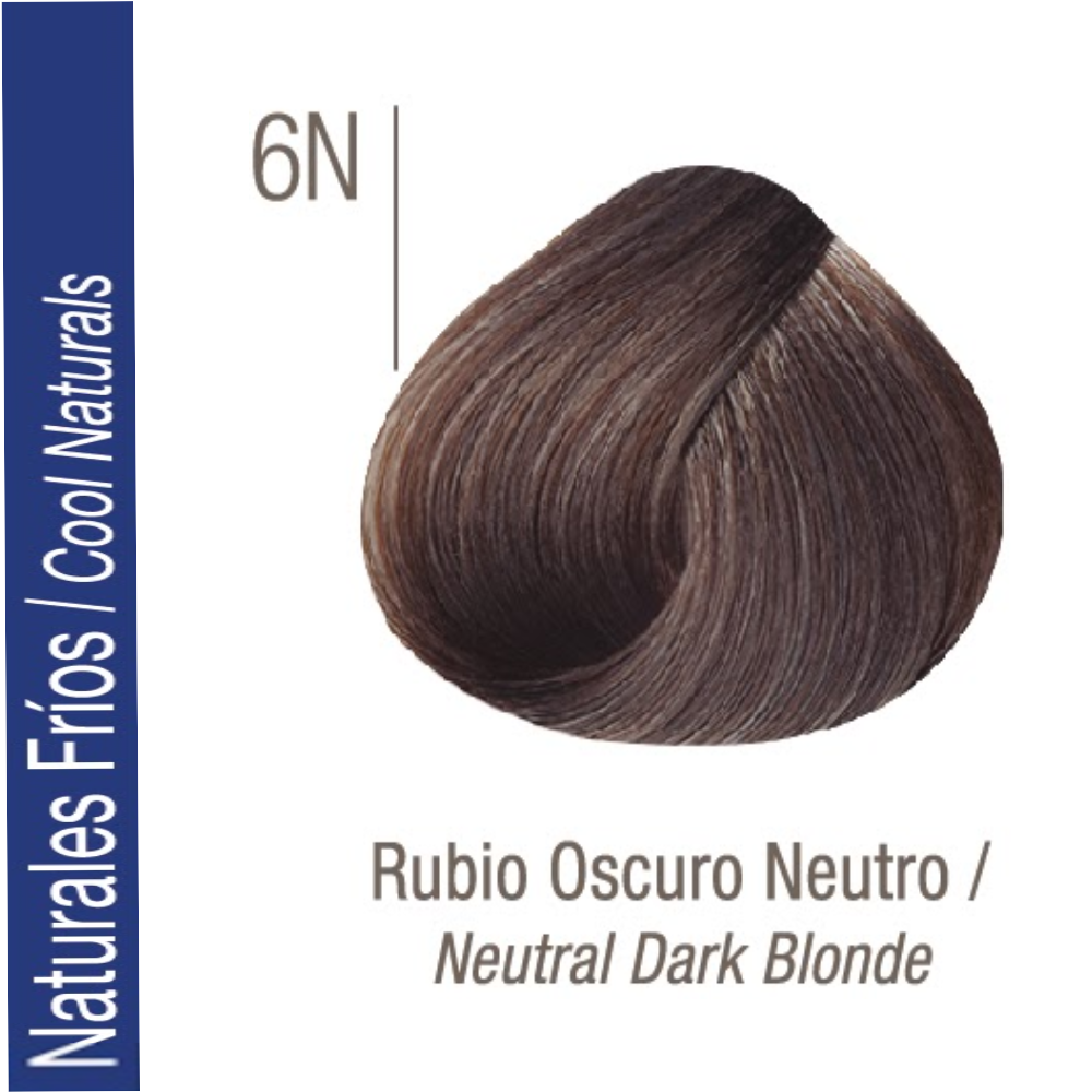 ISSUE TINTURA PROFESSIONAL COLOR Nº 6N Naturales Frios Rubio Oscuro70 GR