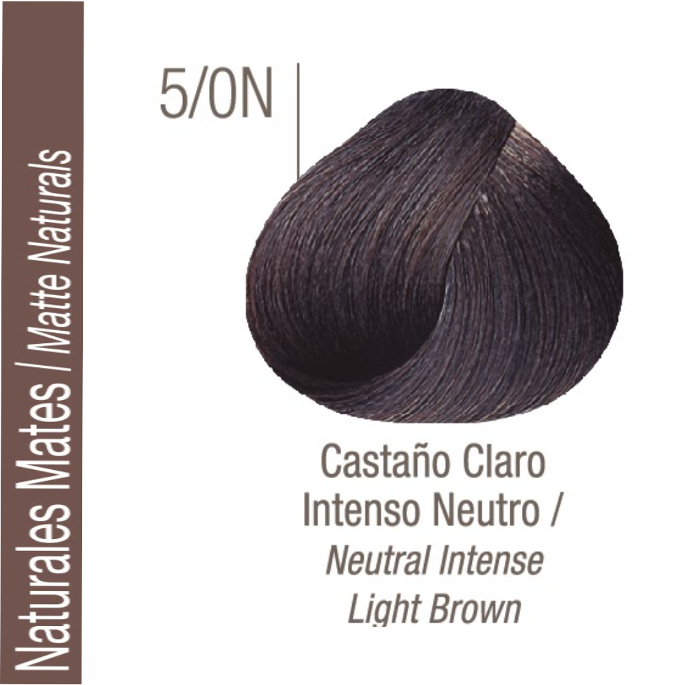 ISSUE TINTURA PROFESSIONAL COLOR Nº 5/0N Naturales Frios Castaño Claro Intenso 70 GR