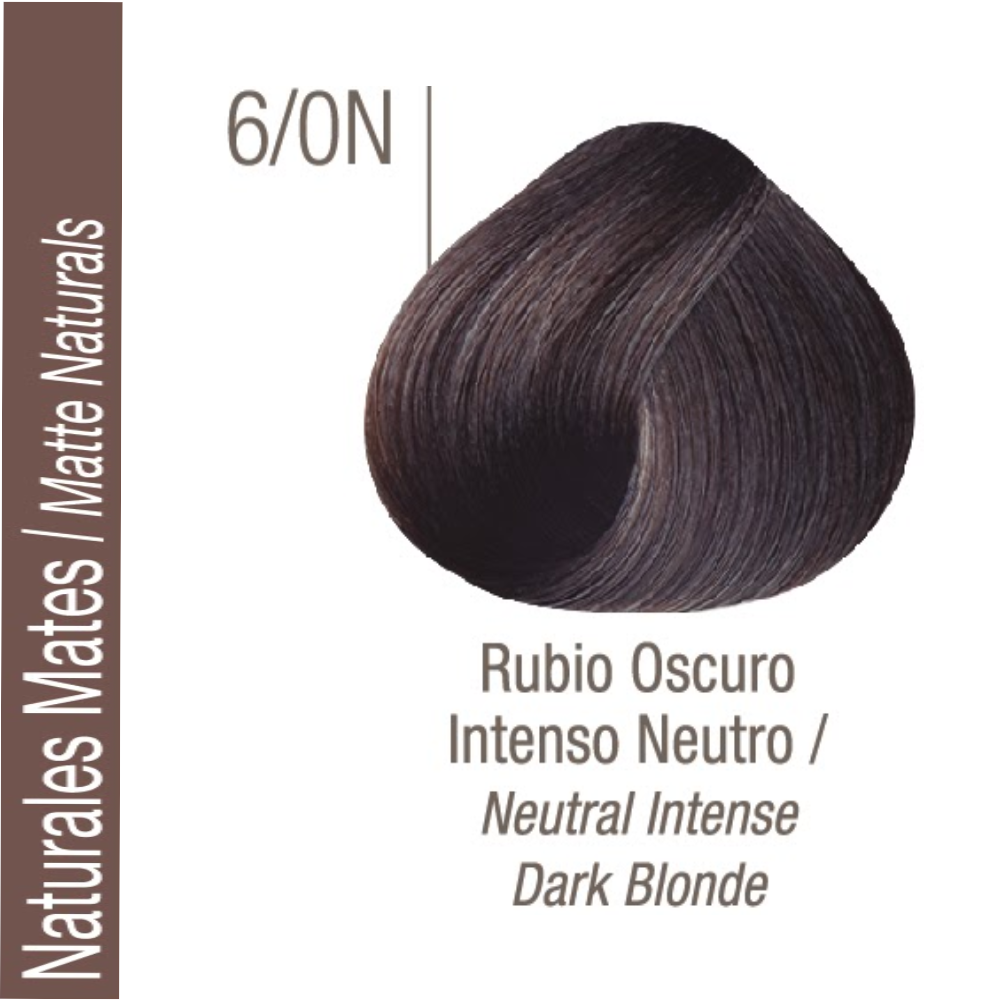 ISSUE TINTURA PROFESSIONAL COLOR Nº 6/0N Naturales Frios Castaño Oscuro Intenso 70 GR