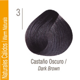 ISSUE TINTURA PROFESSIONAL COLOR Nº 3 Naturales Cálidos Castaño Oscuro 70 GR
