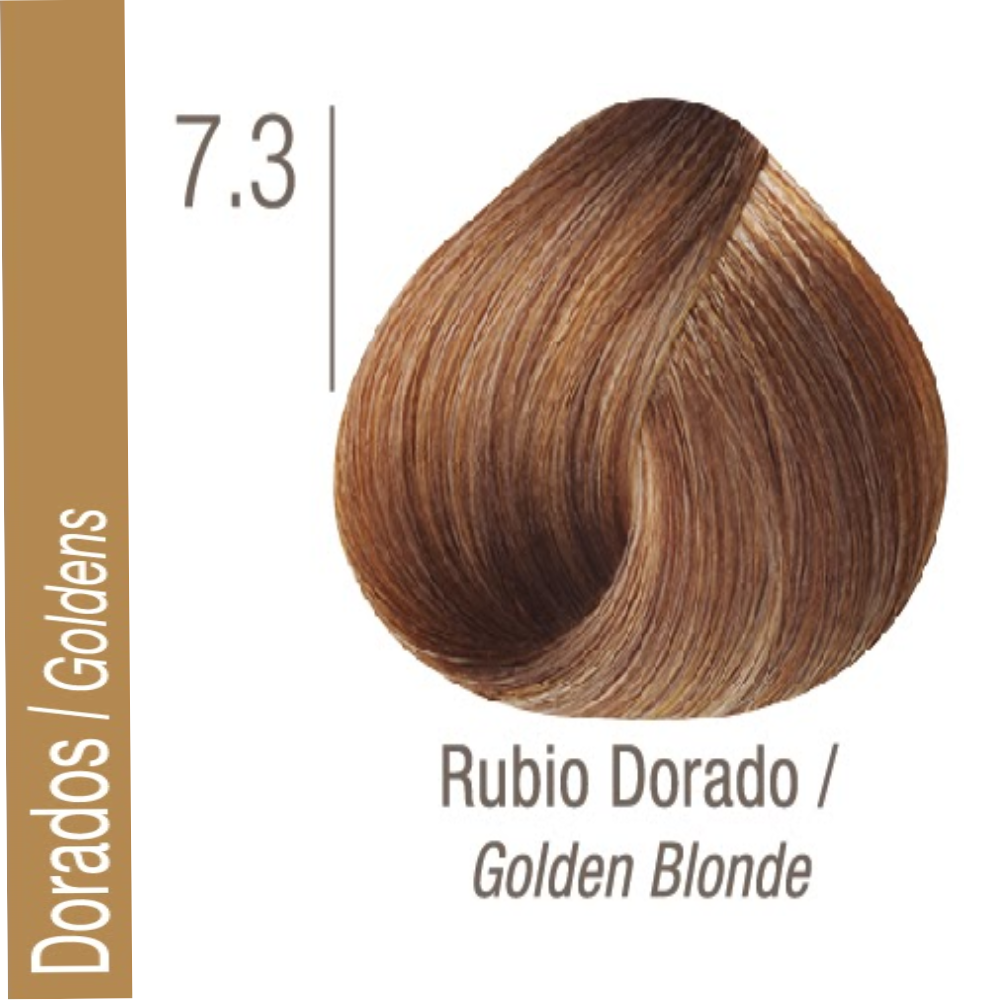ISSUE TINTURA PROFESSIONAL COLOR Nº 7.3 Dorados Rubio Dorado 70 GR