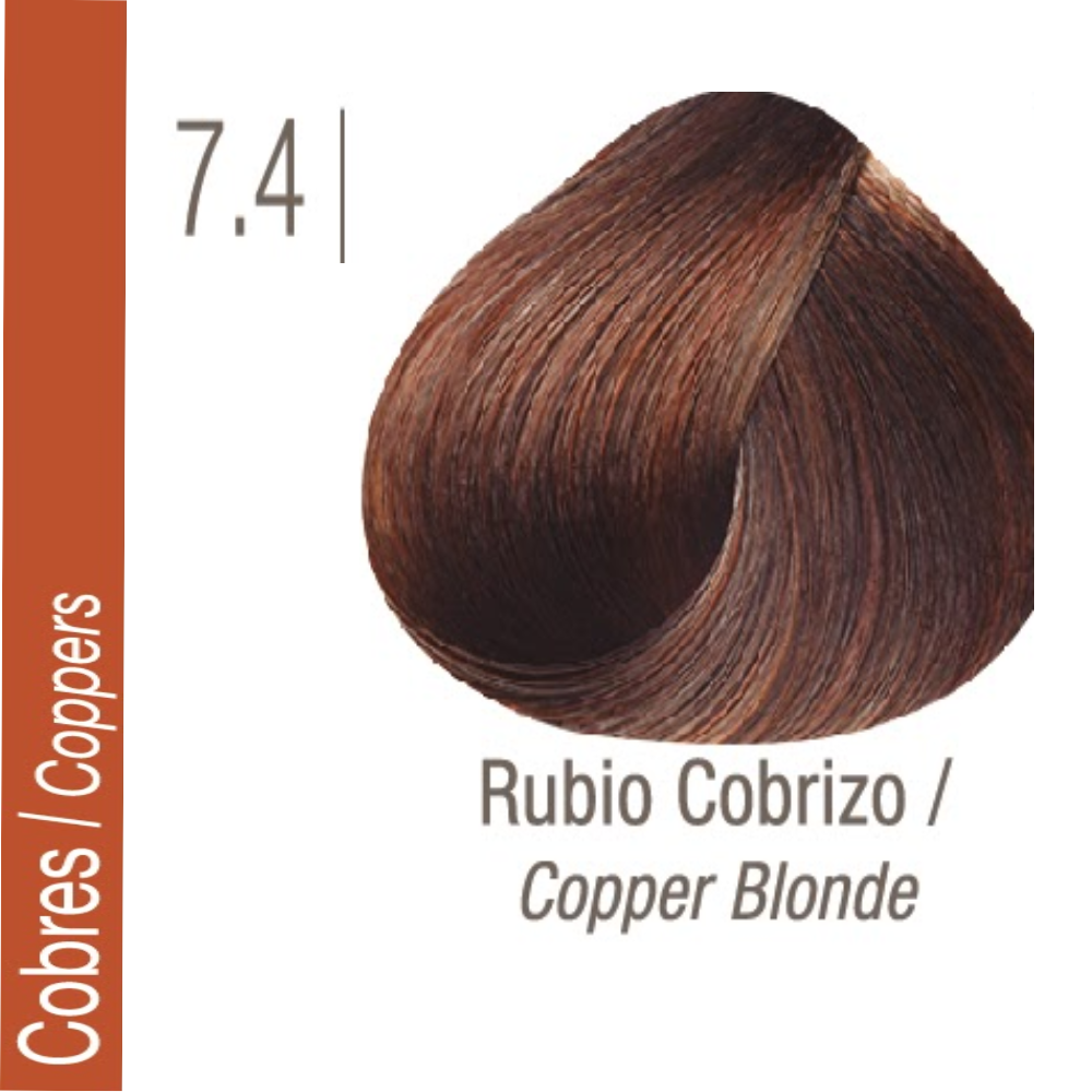 ISSUE TINTURA PROFESSIONAL COLOR Nº 7.4 Cobres Rubio Cobrizo 70 GR