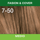 SCHWARZKOPF TINTURA ESSENSITY 7-50 Rubio Medio Fashion & Cover /Louro Medio Fashion & Cover 60 ML