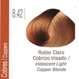 ISSUE TINTURA PROFESSIONAL COLOR Nº 8.42 Cobres Rubio Claro Cobrizo Irisado 70 GR