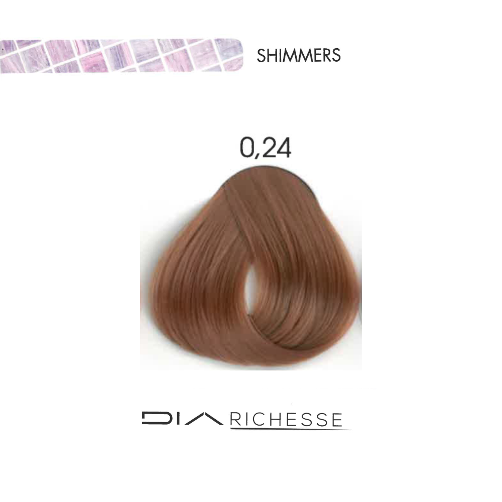 LOREAL DIA RICHESSE SHIMMERS ROSE GOLD .24