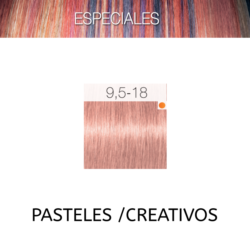 SCHWARZKOPF TINTURA IGORA ROYAL 9,5-18 Especiales Creativos Pastel Rosa 60 ML