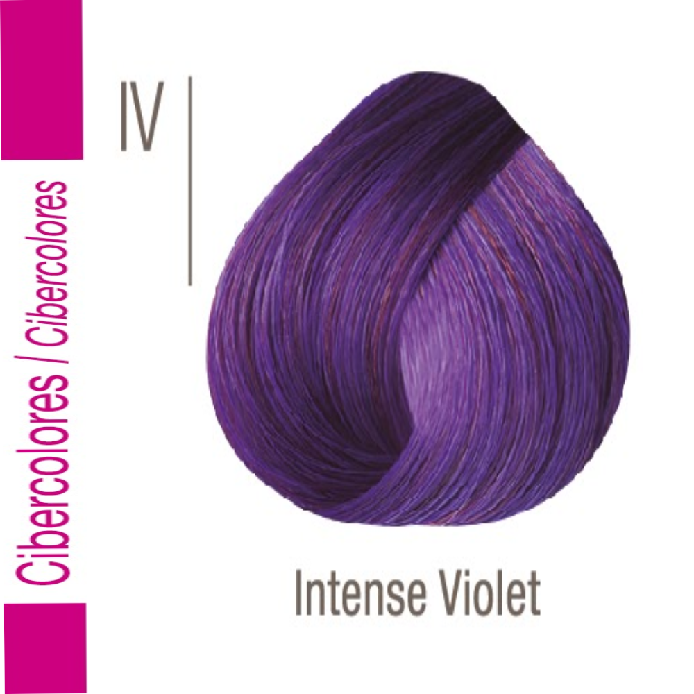 ISSUE TINTURA CIBERCOLOR VIOLETA INTENSO 70 GR -6729