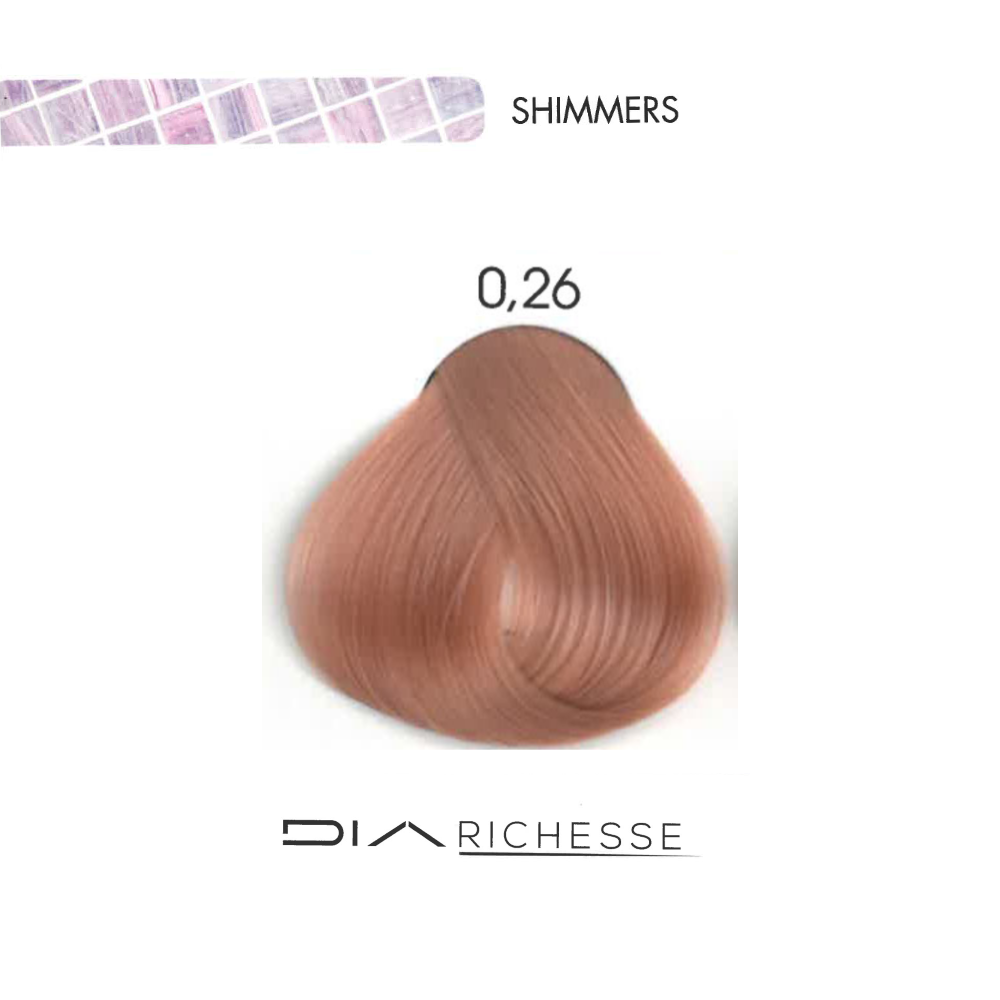 LOREAL DIA RICHESSE SHIMMERS PINK SORBET .26
