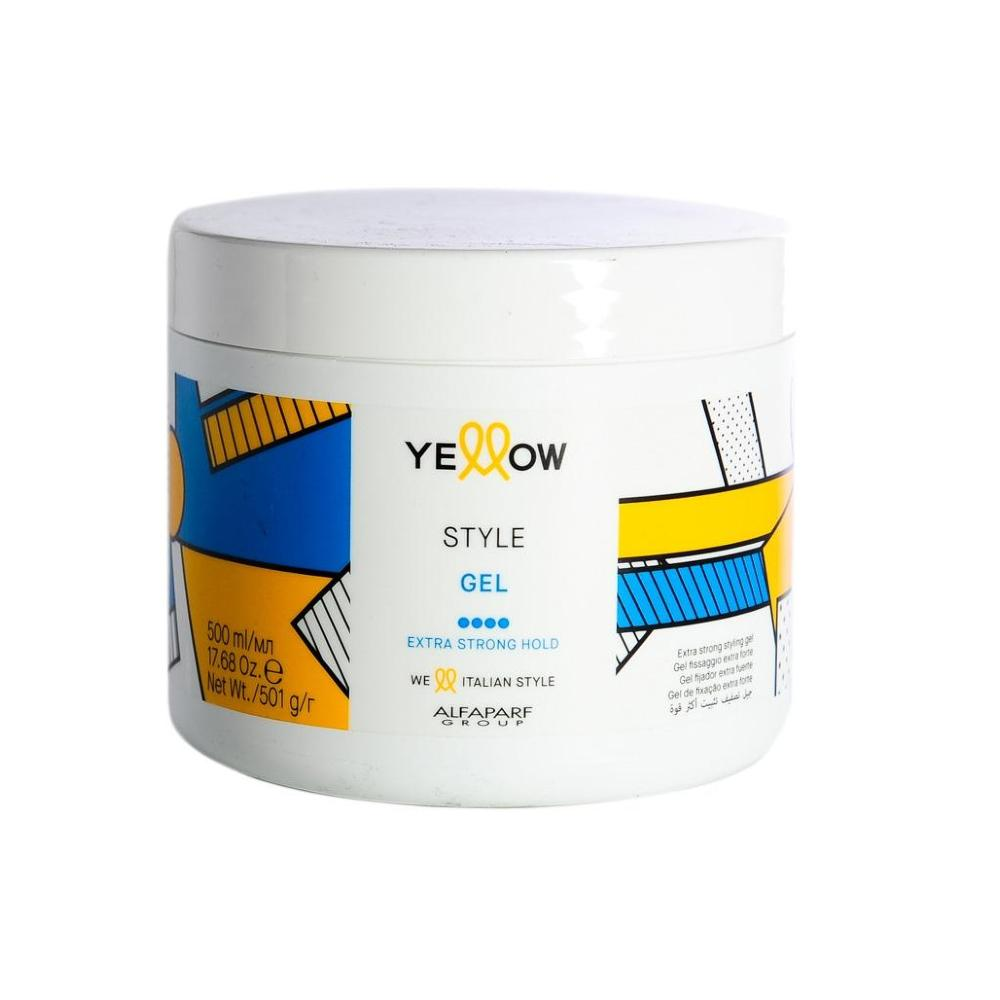 YELLOW STYLE GEL EXTRA STRONG HOLD 500ml