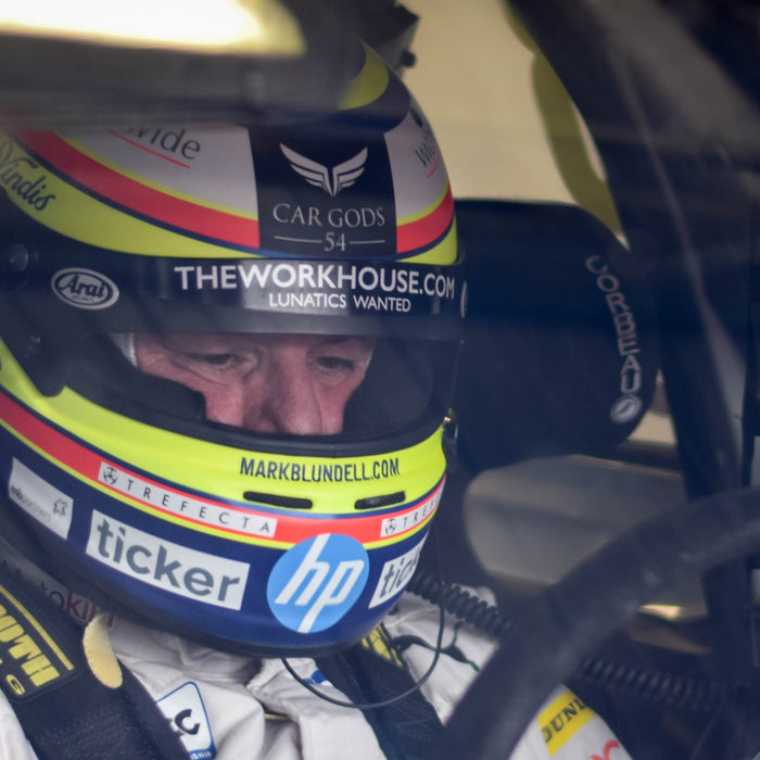 Getting back behind the wheel: Blundell in the BTCC