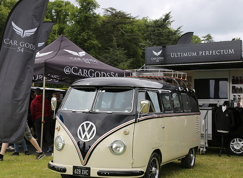 VW Kombi on the Car Gods 54 stand