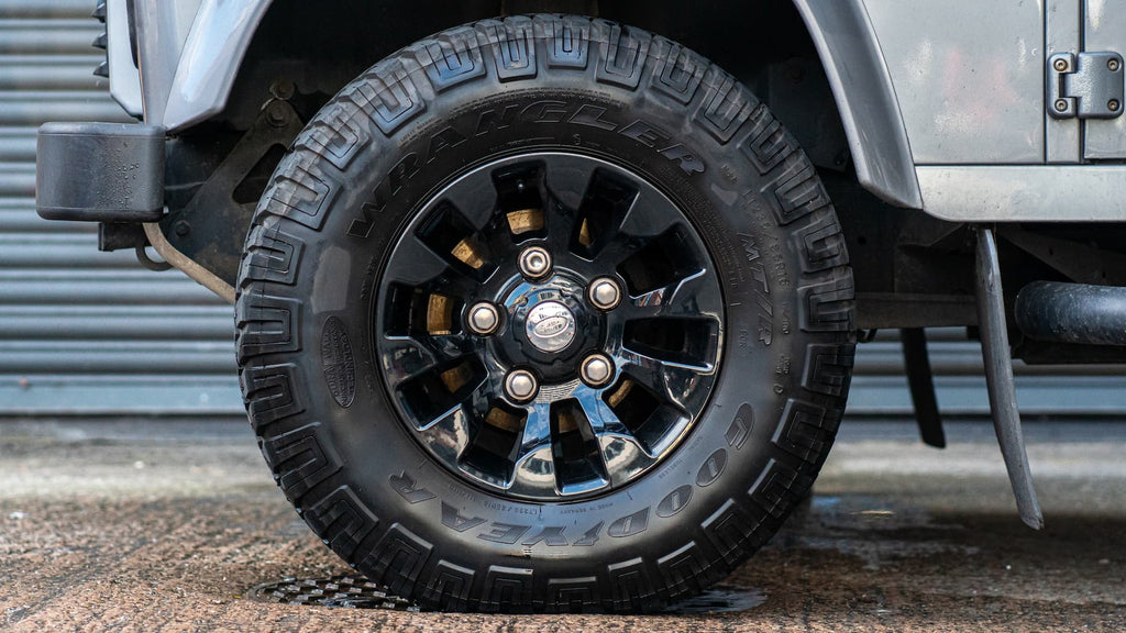 Fully Clean Land Rover Wheel