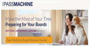 The Passmachine Pain Medicine Board Review Course 2018 | Medical Video Courses.