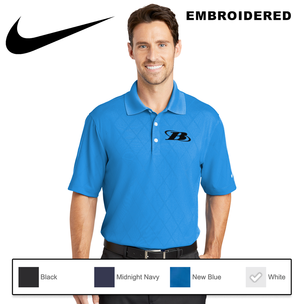 BB - Nike Dri-FIT Cross-Over Texture Polo