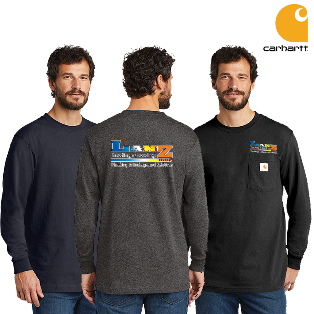 Lanz - Carhartt Long Sleeve Pocket Tees