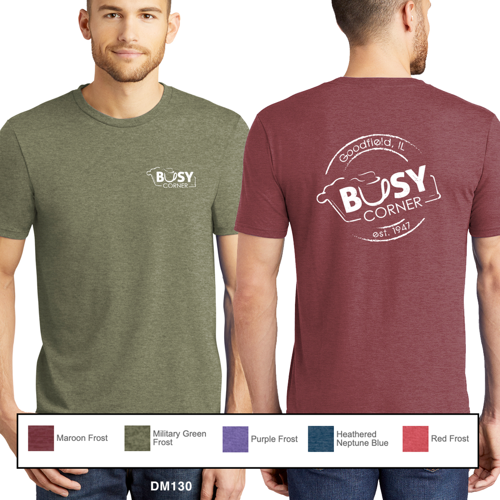 Busy Corner - District Soft Tees