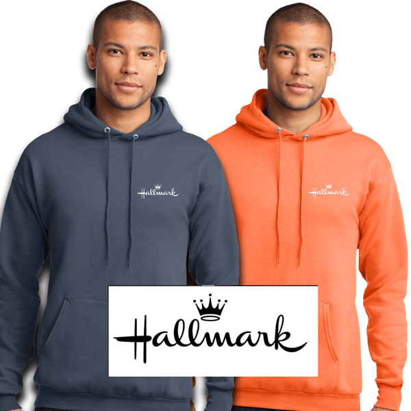 Hallmark - Core Fleece Pullover Hooded Sweatshirt