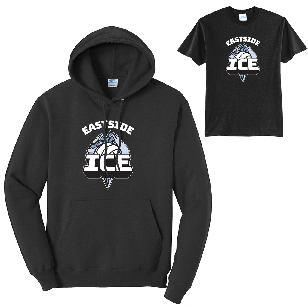 Eastside VBC - 15U Ice - Tees and Hoodies