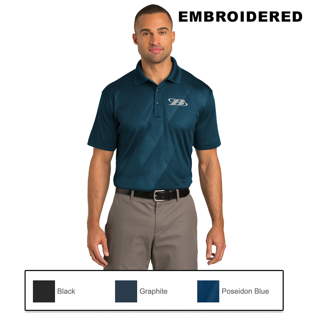 BB - Port Authority® Tech Embossed Polo