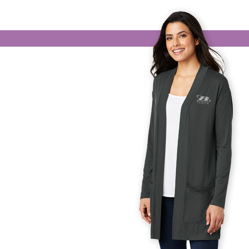 BB - Port Authority Ladies Concept Long Pocket Cardigan