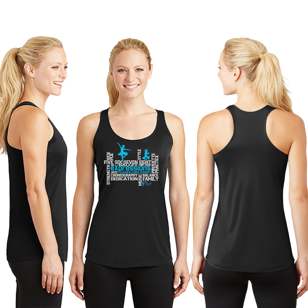 eXpressions - Ladies Wicking Racerback Tank