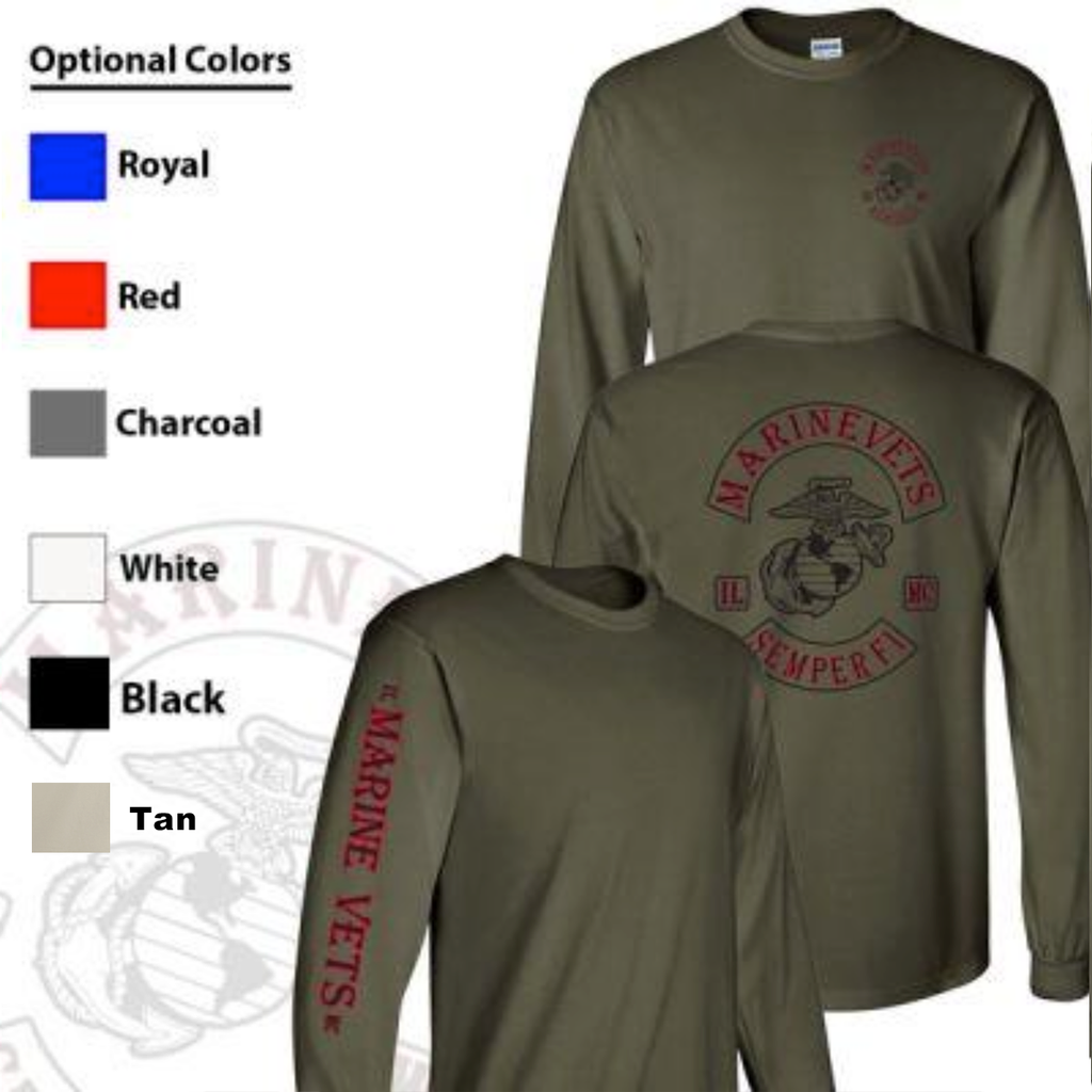 Marine Vets MC Long Sleeve