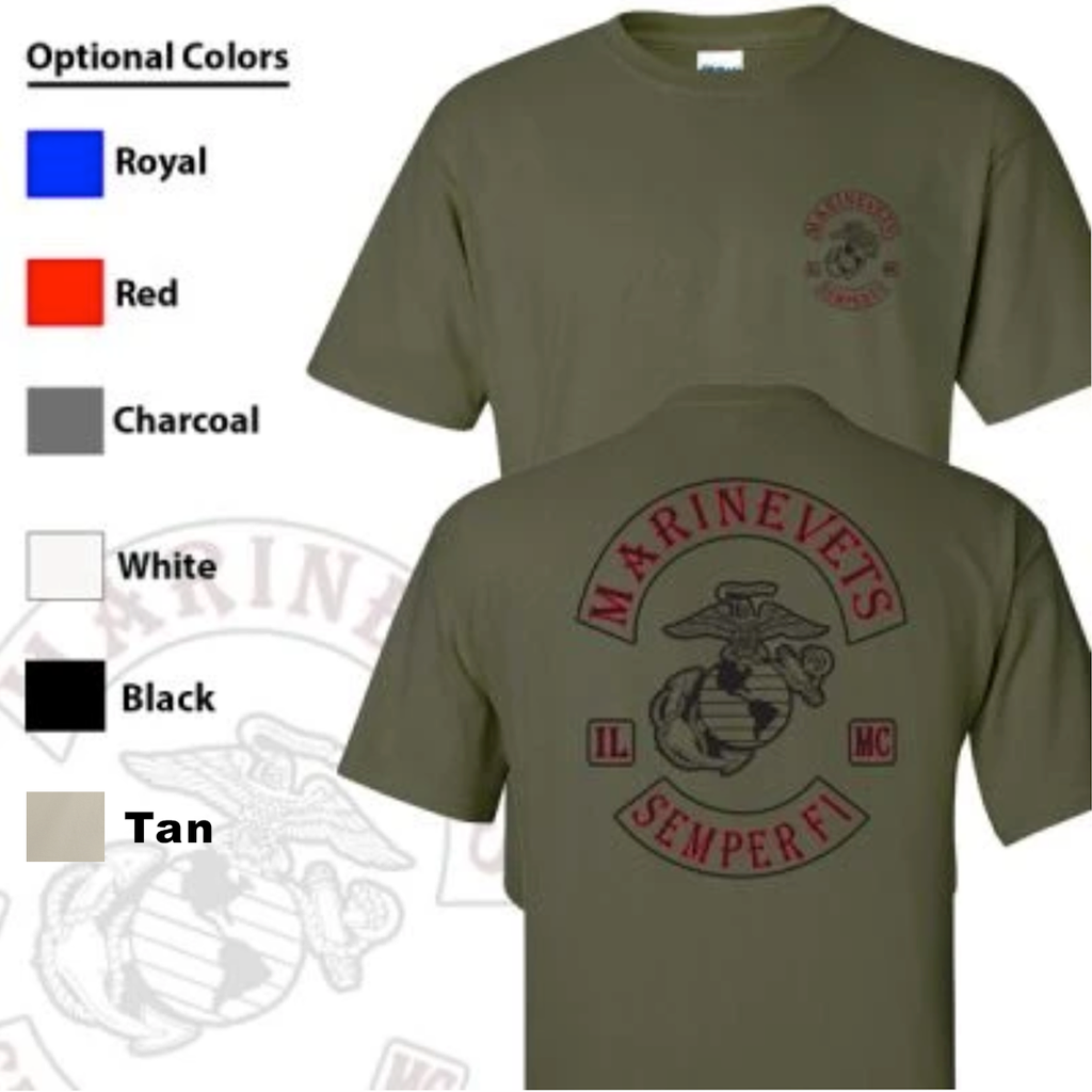 Marine Vets MC T-Shirt