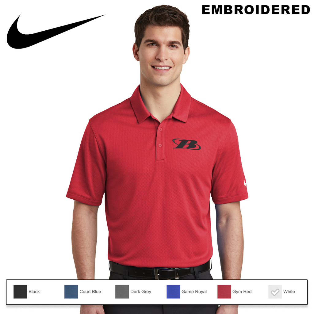 BB - Nike Dri-FIT Hex Textured Polo