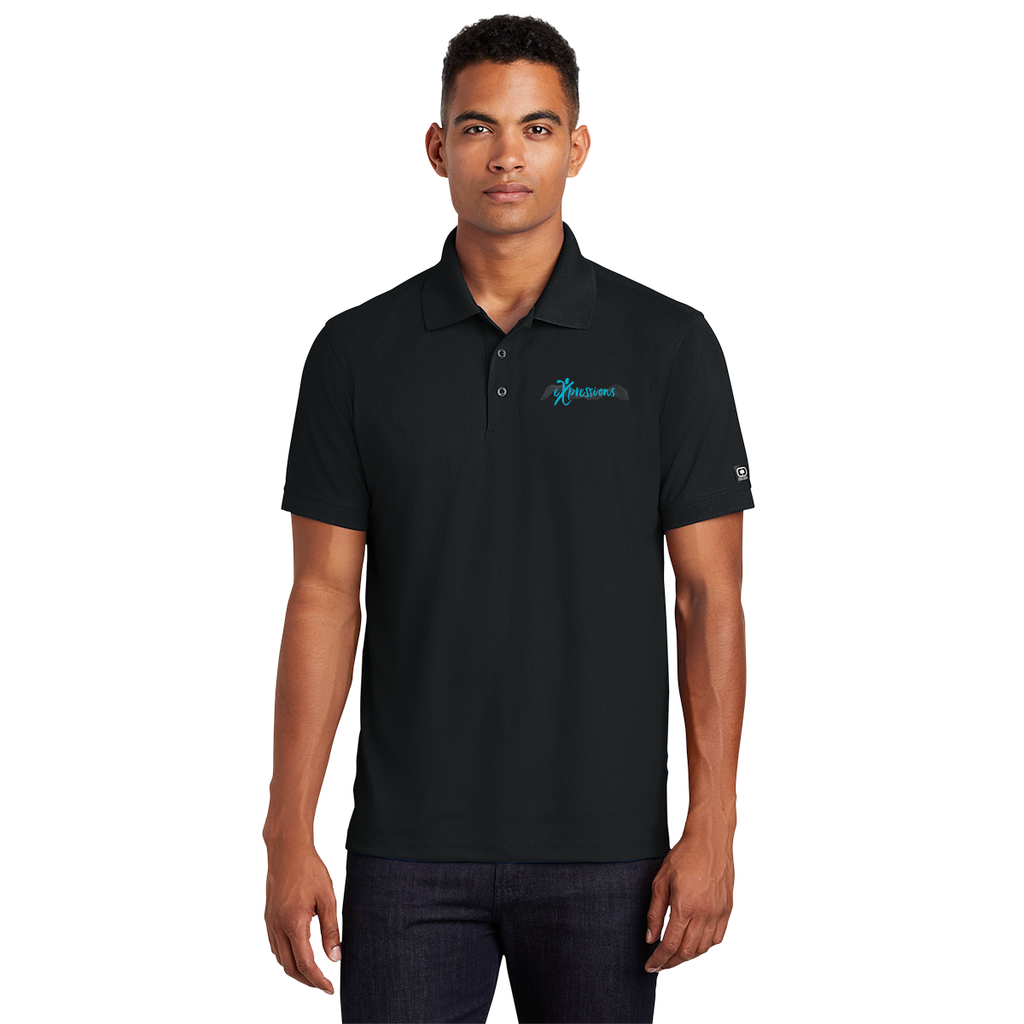 eXpressions - Mens Embroidered Polo