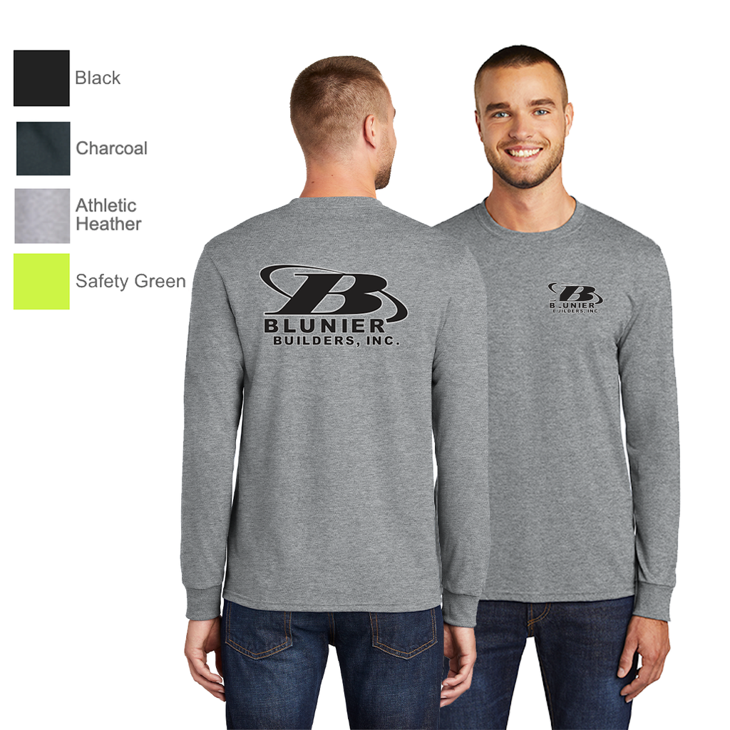 BB - Port & Company® Long Sleeve Core Blend Tee