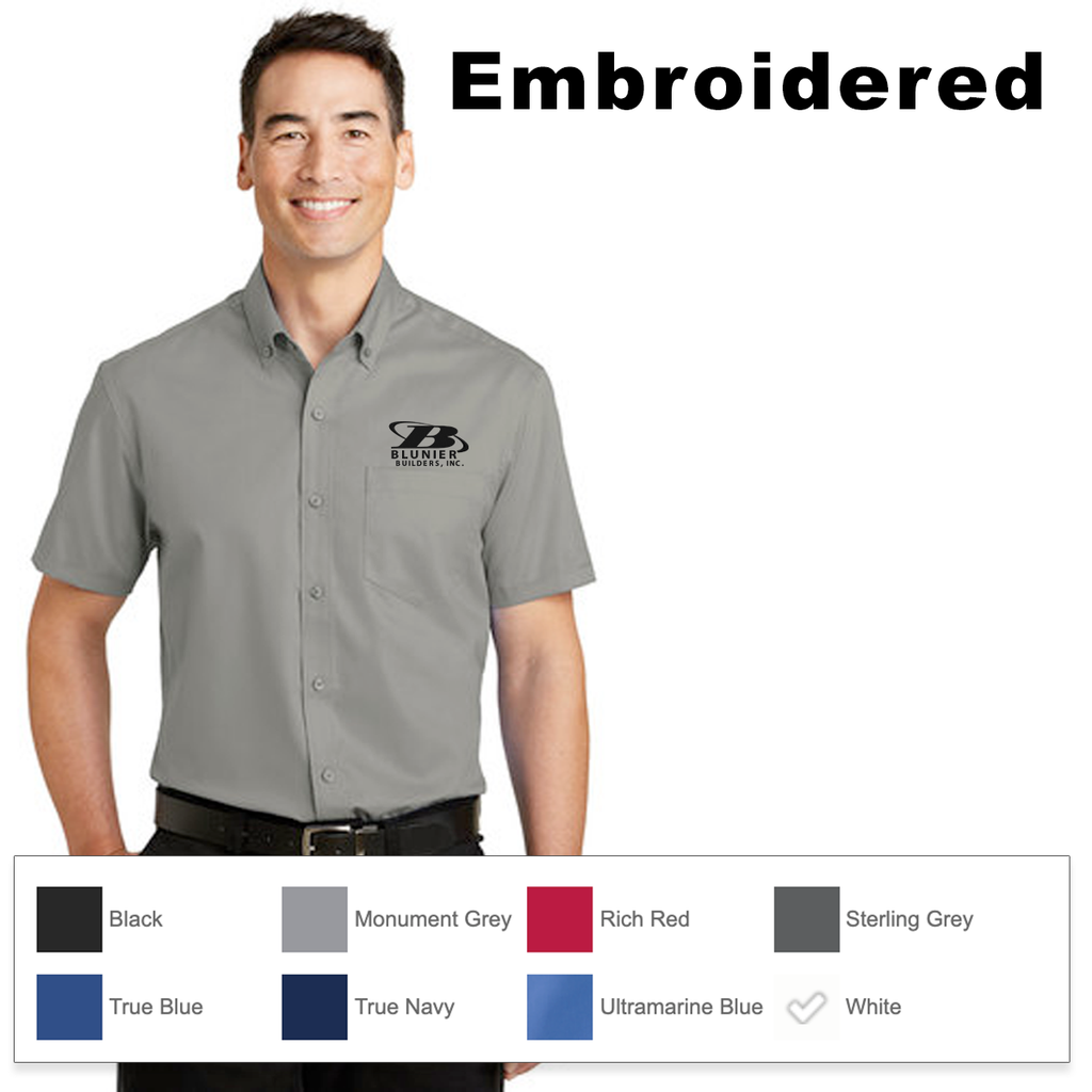 BB - Port Authority® Short Sleeve SuperPro™ Twill Shirt
