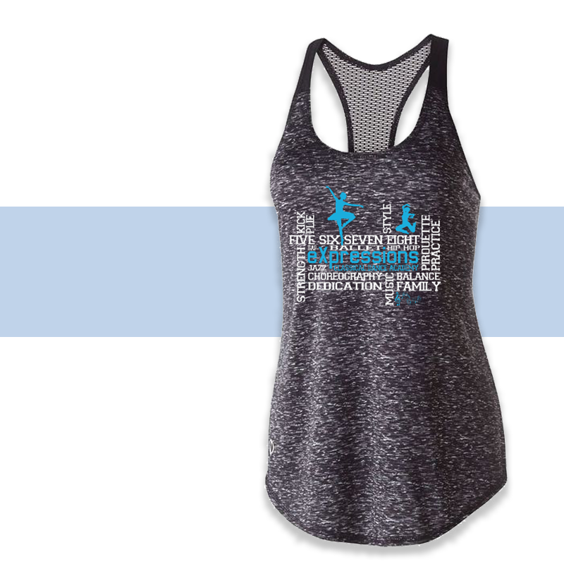 eXpressions - Girls Space Dye Tank