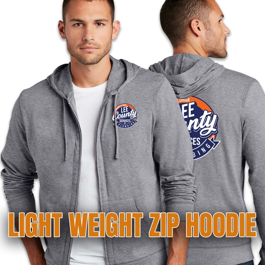 LCS - District Light Weight Full Zip Hoodie