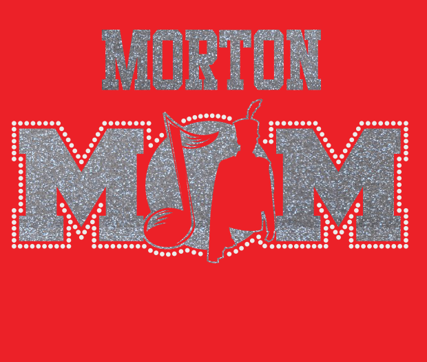 Morton Band MOM Glitter/Rhinestone design