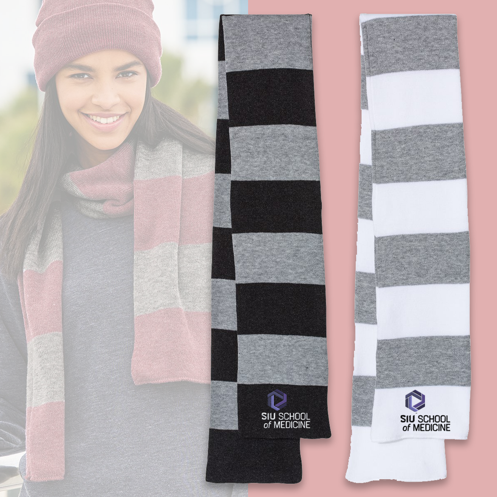 SIU - Sportsman Rugby Striped Knit Scarf