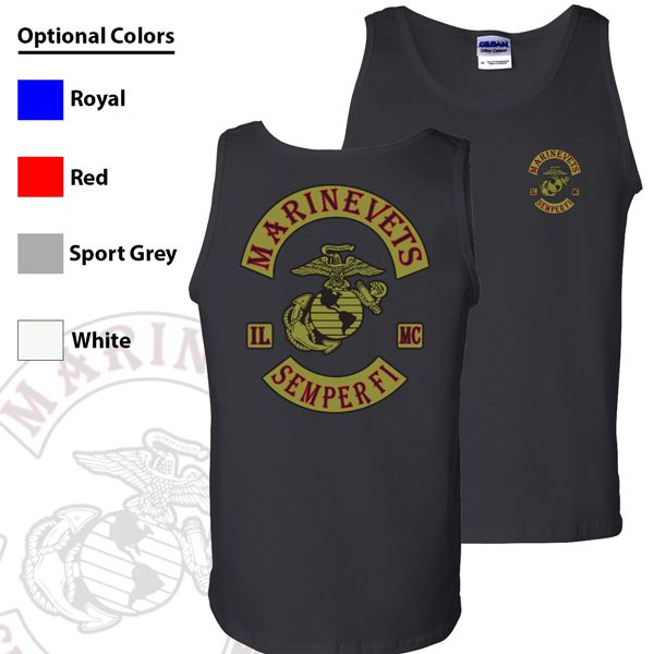Marine Vets MC Tank Top