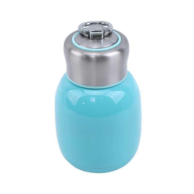 Hot Mini Portable Candy Color Travel Mug Stainless Steel Tea Water Coffee Flask Children's Vacuum Cup