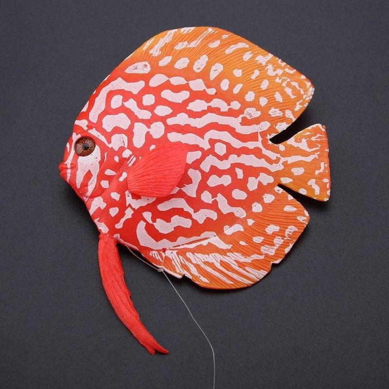 Aquarium Decoration Tropical Fake Fish Funny Luminous Fish