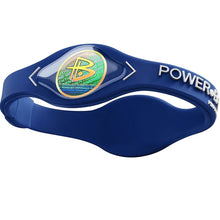 Load image into Gallery viewer, Sports bracelet Power Balance Energy Health Original Bracelet Silicone Hologram Code Sport Wristbands Balance
