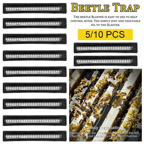 5/10Pcs Small Bee Hive Beetle Blaster BeeHive Trap Beekeeping Equipment Tool Durable