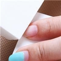10pcs Women Nail Polished Four Squares High-elastic Cotton Manicure Scrubs DIY Nail Art Tools Nail Buffing Sanding
