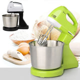 Electric Food Mixer Table Stand Cake Dough Mixer Handheld  Egg Beate Baking with 7 Speed
