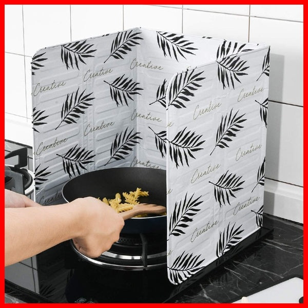 Kitchen Shield Guard VW Cover Screen Pan Frying Cooking Anti-Splatter Oil Splash
