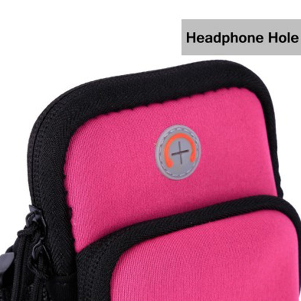 Phone Pouch (4-6inches) Sport Workout Fitness Fashion Running Armband Bag Pouch  Universal Phone Bag