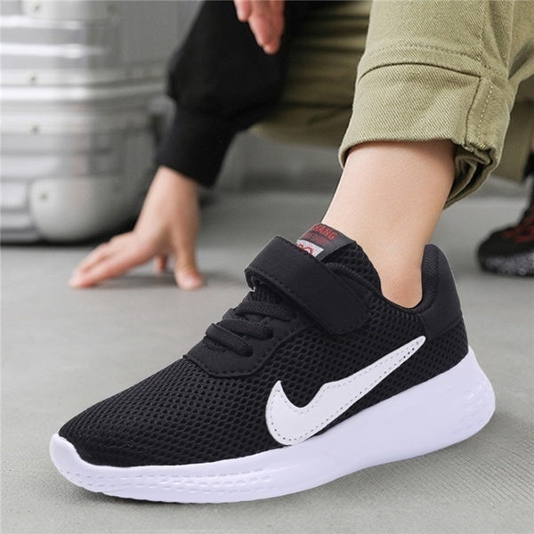 New Fashion Kids Sports Shoes Breathable Mesh Shoes for Children Outdoor Running Shoes Casual Shoes Size 28-40