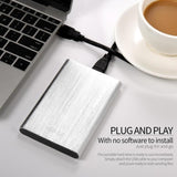 Portable Desktop PC External Hard Drive Disk Storage Devices 2.5'' USB3.0 SATA With Leather Case