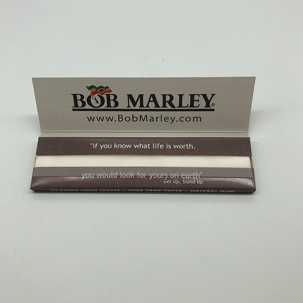 One or half Box(50 Bags 1 box) King Size Slow Burning BOB Premium Slim Rolling Paper DIY Cigarette Paper