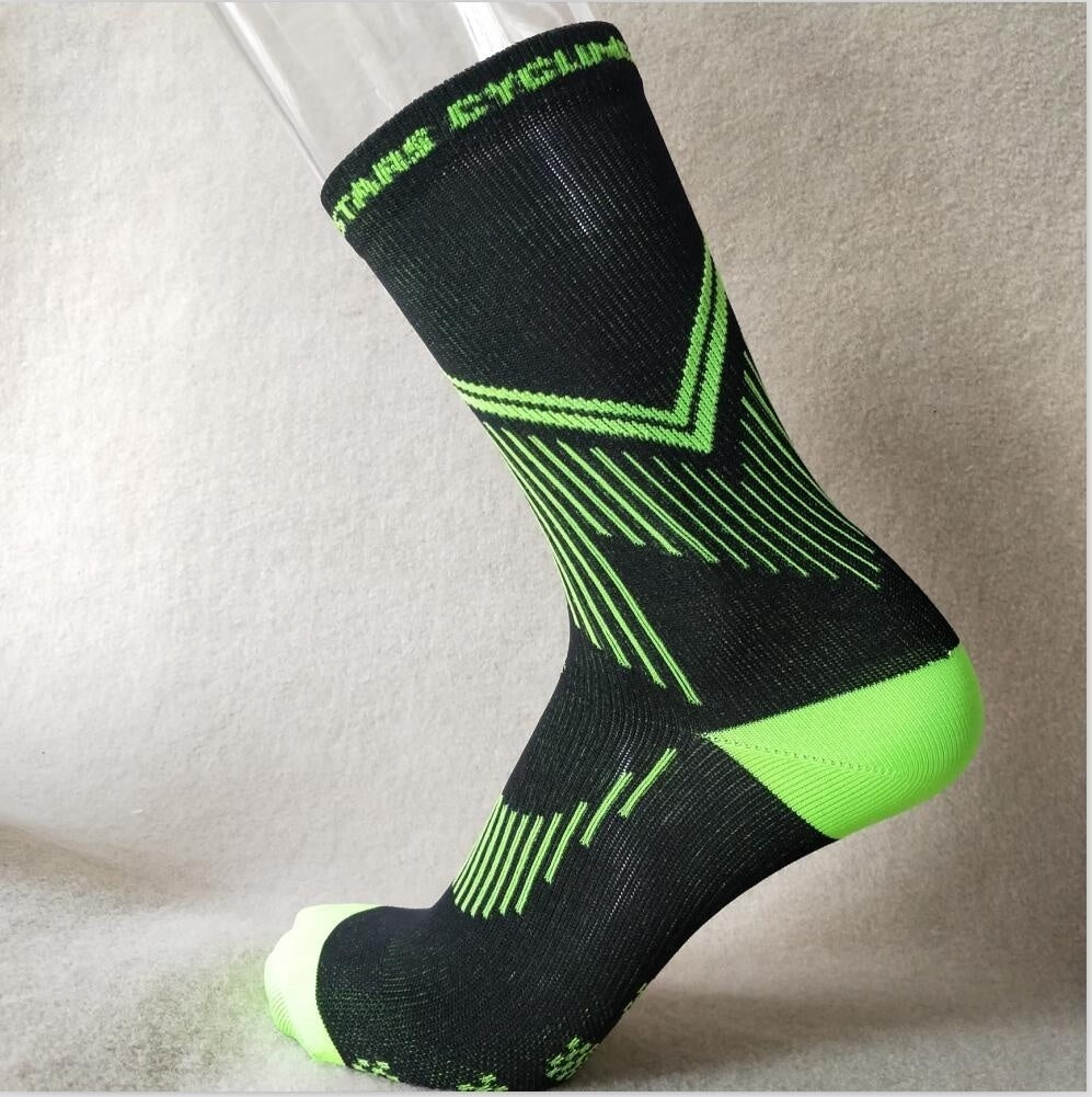 New Unisex Outdoor Sport Cycling Socks Men Compressed Bike Footwear Road Bike Socks Running Socks