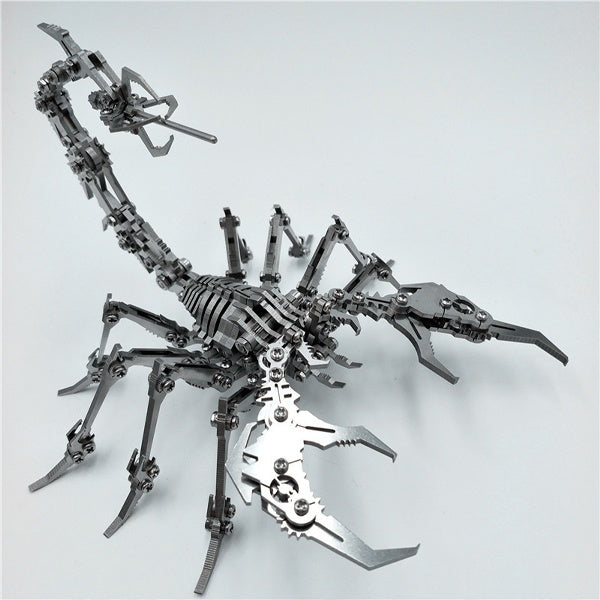 DIY Stainless Steel The King of Scorpions 3D Jigsaw Puzzle